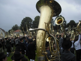 Kreisverbandsmusikfest in Hauerz 2009